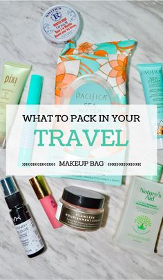 List of 10 travel beauty essentials to take with you no matter where you're going!