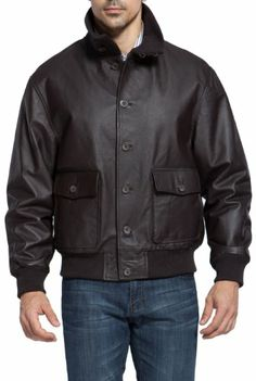 Landing Leathers Men's Navy A-1 Leather Flight Bomber Jacket – Brown XL at http://suliaszone.com/landing-leathers-mens-navy-a-1-leather-flight-bomber-jacket-brown-xl/