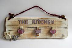 Ordine si, ma con stile! Romantico appenditutto da cucina 50x16,5cm shop on line https://almagia.ecwid.com/