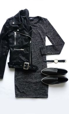 Leather jackets are popular all the time. They can be worn in different seasons and fit many occasions.