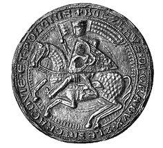 Bolesław I Wysoki falsified seal - Bolesław I Wysoki –