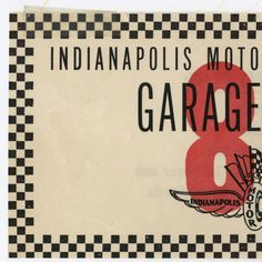 Indianapolis Motor Speedway parking pass, 1980  :: Roger Pelham Indianapolis 500 Collection