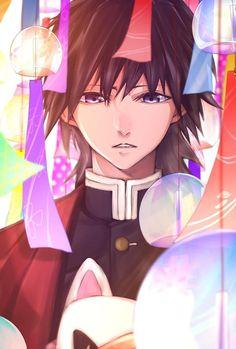Demon Slayer (Kimetsu no Yaiba) Cute Anime Guys, All Anime, Manga Anime, Anime Art, Demon Slayer, Slayer Anime, Demon Hunter, Anime Demon, Cute Pictures