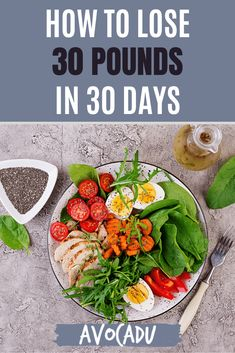 Losing 30 pounds in 30 days may sound impossible--but with the right strategy, it can absolutely be done! We share our best tips and strategies to help you lose a lot of weight quickly and safely in our latest article here. #avocadu #lose30poundsin30days #loseweightfast #fastweightloss Fast Weight Loss, How To Lose Weight Fast, Low Calorie Recipes, Diet Recipes, 30lbs In 30 Days, Healthy Tips, Healthy Eating, Lose 30 Pounds, At Home Workout Plan