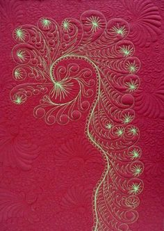 Image result for whimsical free motion quilting