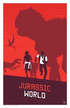 Jurrasic World Poster - William Henry