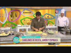 Canelones de ricota y espinaca - YouTube