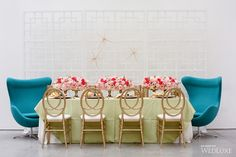 WedLuxe– Wild Warhol    Follow @WedLuxe for more wedding inspiration!