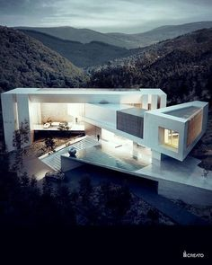 35 Stunning Modern Container House Design Ideas for Comfortable Life Every Day - Architecture Amazing Architecture, Contemporary Architecture, Interior Architecture, Modern Contemporary, Architecture House Design, Architecture Artists, Computer Architecture, Contemporary Building, Contemporary Cottage