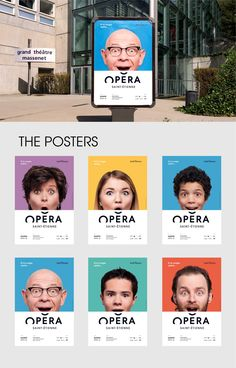 A SMILE CONTESTIn 2015, we designed the visual identity of the Opera house of Saint-Etienne.The logo was simply derived from the shape of the roof of the opera, and the communication campaign resumed this form into a smile. To extend the concept, we re…