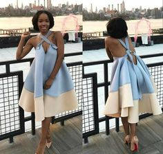 Wanna try it out Classy Dress, Classy Outfits, Chic Outfits, Fashion Outfits, Womens Fashion, Cute Dresses, Beautiful Dresses, Casual Dresses, African Wear