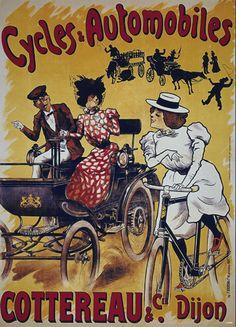BICYCLE VINTAGE AD POSTER