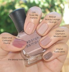 Nude nails never go out of style.