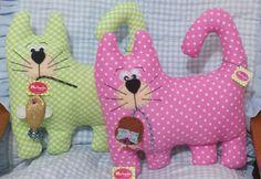 Cojines gatos Mariagujas