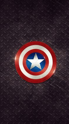Captain America Logo iPhone 5s wallpaper