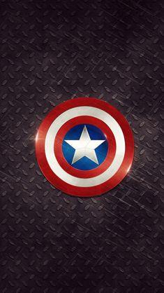 Captain America Logo iPhone 5s wallpaper