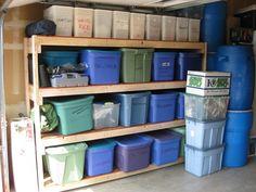 IMG_0141 Storage Room, Garage Storage, Emergency Preparedness, Room Ideas, Gym, Store, House, Pantry Room, Home
