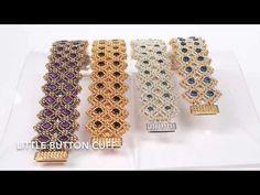 Little Button Cuff : Manek-Manek Beads - Jewelry | Kits | Beads | Patterns