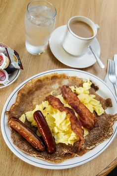 NYT Cooking: Outside Thunder Bay, you won't find many places that serve the Hoito's style of Finnish pancakes, which bear no resemblance to fluffy American-style pancakes. At the restaurant, they are each the size of a dinner plate, heavy and dense.