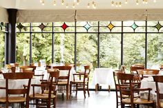 The restaurant at Falsled Kro is Michelin-starred and is famous for its tasting menus.