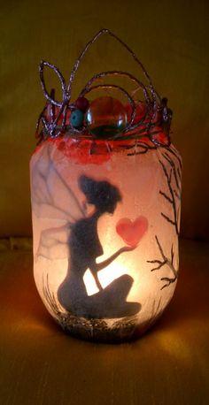 Fairy Holding Heart