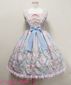 Harlequinade Switching JSK (Pink) - Angelic Pretty