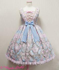 Angelic Pretty アレルキナーダ切替ジャンパースカート