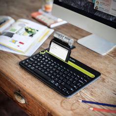 Logitech K480 Bluetooth Keyboard - $50 WellDoneStuff ≕☥DV☥≔