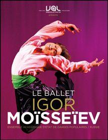 Le ballet IGOR Moïsseiev.  Jeudi 7 MARS 2013