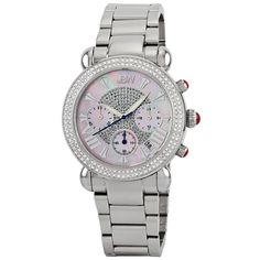 JBW Women's JB-6210-160-C Victory 0.80 ctw Stainless Steel Diamond Watch