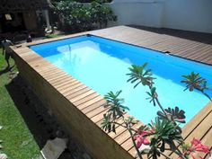 Garten Anlegen Admirable above-ground pool ideas, ideas How to be the Oberirdischer Pool, Mini Swimming Pool, Swimming Pool Images, Amazing Swimming Pools, Swimming Pools Backyard, Swimming Pool Designs, Small Above Ground Pool, In Ground Pools, Above Ground Pool Landscaping