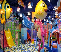 Undersea World Indoor Playground System | Cheer Amusement CH-TD20150112-2 - playgroundcheer.com