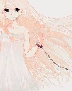 IA, Vocaloid, Fairy, Chain, Dragonfly wings, White dress