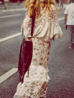 La robe hippie de Free People   DailyELLE