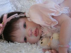 "Reborn Baby Shyann by Aleina Peterson; Gorgeous Baby ""Sarah Kathleen"""