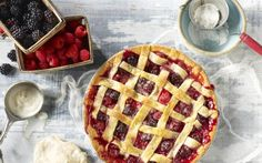 This Fruits of the Forest Berry Pie recipe incorporates both fresh berries and fruit pie filling making it both fresh tasting and easy to prepare.