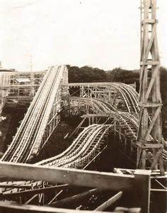 Fountaine Ferry Park Roller Coaster