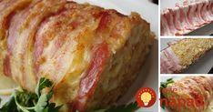 Gurmánska štrúdľa: Perfektný tip na slanú delikatesu! Chicken Milk, Easy Chicken Pot Pie, Mixed Vegetables, Food Festival, Entrees, Food To Make, Food And Drink, Dinner Recipes, Stuffed Peppers