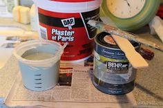 Elizabeth & Co.: How I Make Chalk Paint