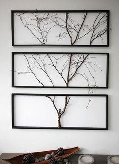 KOHDE 27. Luonnonläheinen taulu on kolmiosainen. Puu on oikea! #ad