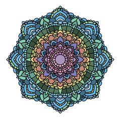 Doodle Inspiration Mandala Art Coloring Books Color Schemes Zentangle Madness Doodles It Works Mandalas Texture Vintage R