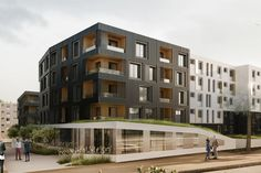 Flint Architectes, Mercurio&Oudor, Renaud Architecte — LIPPMANN