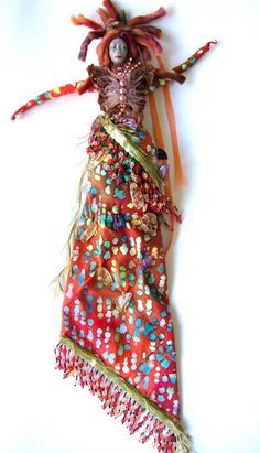 Wisdom Keeper Art Dolls The Arrival a Women's Empowerment Spirit Doll