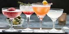 Four easy Prosecco cocktails