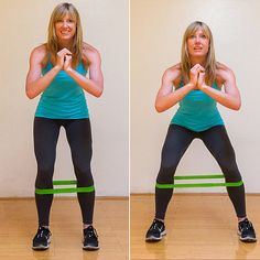 7 Moves Toward Tight, Toned Thighs!  That looks painful...wonder where I can get one of those bands...