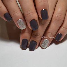 winter gel nail designs 2018 -