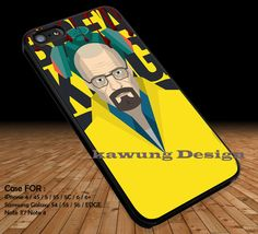 Heisenberg Breaking Bad iPhone 6s 6 6plus 6s  5c 5s 4s Cases Samsung Galaxy s3 s4 s5 s6 Edge  Covers NOTE 5 4 3 #movie #BreakingBad DOP283