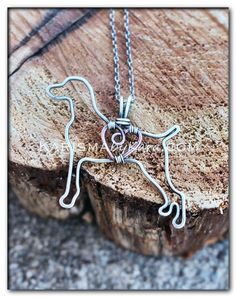 *Karisma is featured at The Shoppes on Trade Karisma by Kara Jewelry — Weimaraner Necklace, Sterling Silver Pendant & Chain, Copper Heart Wire Crafts, Jewelry Crafts, Jewelry Art, Jewellery Box, Jewellery Shops, Jewelry Holder, Jewelry Stores, Jewlery, Jewelry Design
