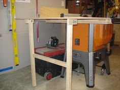 Router table in ridgid r4512 table saw stuff i should build my ridgid r4512 table saw outfeed woodworking talk woodworkers forum keyboard keysfo Images