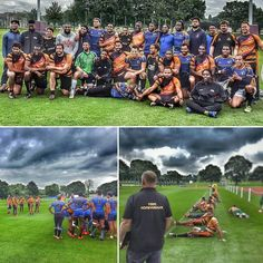 Great day with the Honey Badgers as they trained with the #Barbados national #rugby #sevens team the #flyingfish.